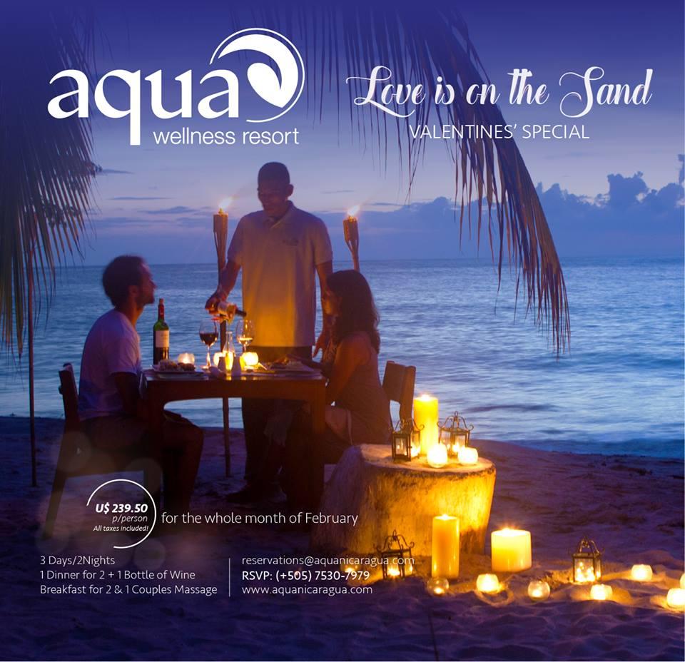 Love at Aqua